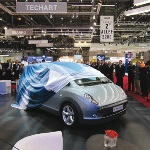 After a re-design, the Joule made its debut at the Geneva Motor show in March 2010.